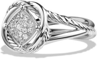 David Yurman 'Infinity' Ring with Diamonds