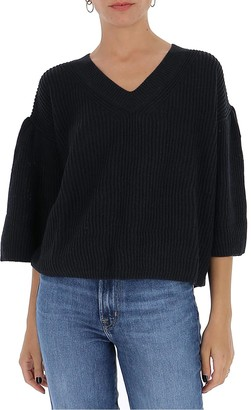 See by Chloe V-Neck Knitted Sweater