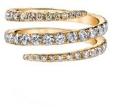 Anita Ko Yellow Gold Pinky Coil Ring