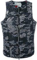 Puma camouflage padded waistcoat