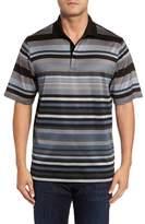 Bugatchi Men's Classic Fit Stripe Polo