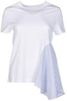Stella McCartney Asymmetric Stripe T-Shirt