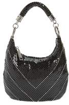 Whiting & Davis Little Black Mesh Shoulder Bag
