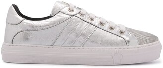 Moncler Metallic Sheen Low-Top Sneakers