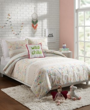 Jessica Simpson Whimsical Paisley 3-Piece Twin Comforter Set Bedding