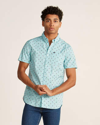 Superdry Turquoise Toucans Shirt