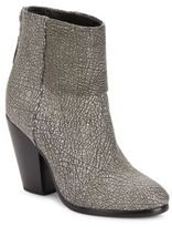 Rag & Bone Newbury Textured Leather Booties
