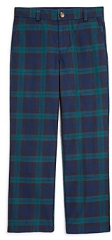 Vineyard Vines Boys' Plaid Breaker Pants - Little Kid, Big Kid