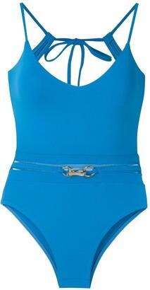 AMIR SLAMA Metallic Embellishment Swimsuit