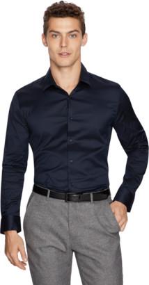 yd. Ink Axe Slim Dress Shirt