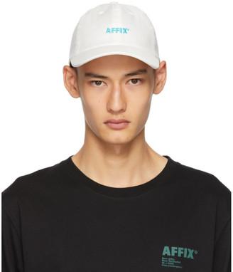 AFFIX White Standard Logo Drill Cap