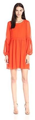 Erin Fetherston Erin Women's Bell-Sleeve Henriette Shift Dress