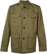 Officine Generale multi-pocket shirt jacket