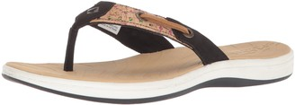 Sperry Women's Seabrook Surf Perf Cork Flip Flops