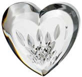 Waterford 'Lismore' Heart Lead Crystal Paperweight - White