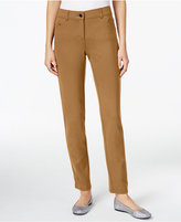 Style&Co. Style & Co Ponte Slim-Leg Pants, Only at Macy's
