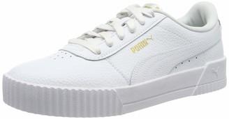 Puma Women's Carina Lux L Trainers White White 6.5 UK 40 EU