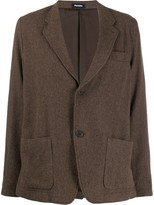 Plantation fitted single-breasted blazer