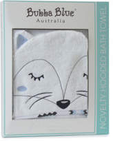 Bubba Blue Bubba Blue Mr Fox Novelty Bath Towel