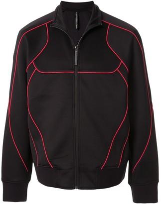 Blackbarrett Contrast Piping Track Jacket