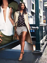 New York & Co. 7th Avenue - Soft Wrap Trench Coat