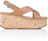 Prada Women's Platform Wedge Sandals
