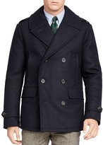Polo Ralph Lauren Wool Blend Down Pea Coat