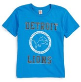 Junk Food Clothing Kick Off Detroit Lions T-Shirt (Toddler Boys, Little Boys & Big Boys)