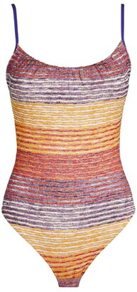 Missoni Multi-Stripe Swimsuit