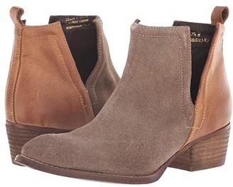 Diba True Stop By (Dust/Cognac Suede/Leather) Women's Boots