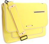 Juicy Couture Neon Beach Naomi Media Messenger (Neon Yellow) - Bags and Luggage