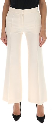 Valentino Cropped Flared Pants