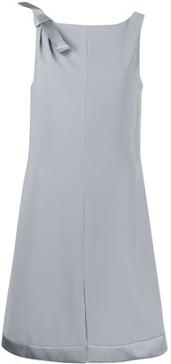Emporio Armani Shoulder Bow Shift Dress