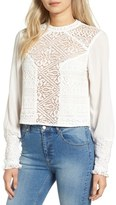 Band of Gypsies Lace Front Top