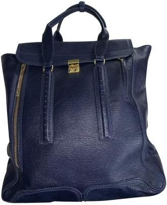 3.1 Phillip Lim Blue Leather Handbags
