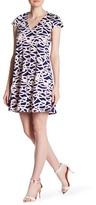 Julie Brown Breene Cap Sleeve Swing Dress