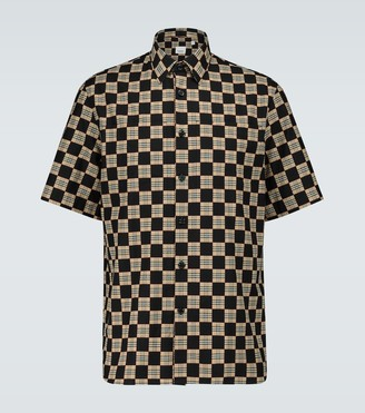Burberry Trulo checked short-sleeved shirt