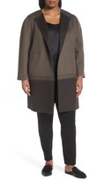 Lafayette 148 New York Plus Size Women's Hayes Wool & Cashmere Coat