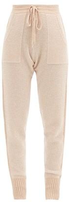 Eres Journal Wool-blend Pyjama Trousers - Beige Multi
