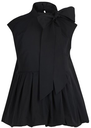 Valentino Micro-faille sleeveless top