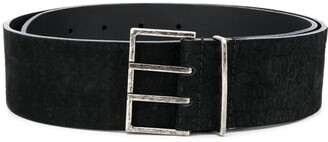 Saint Laurent Large Buckle Belt