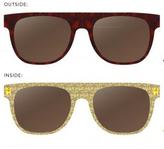 RetroSuperFuture Super Sunglasses Flat Top in Palm