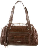 Tod's Alligator Shoulder Bag