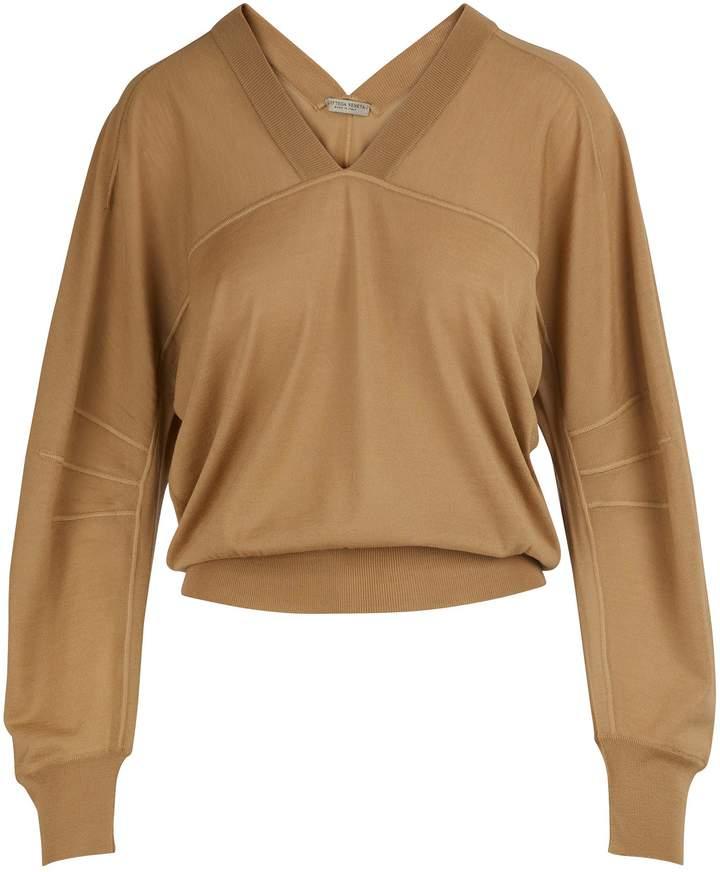 Bottega Veneta Puff-sleeved pullover