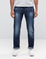 Esprit Jeans In Mid Wash Slim Fit