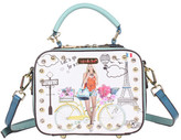 Nicole Lee Women's Spring Ride Print Mini Cross Body Bag