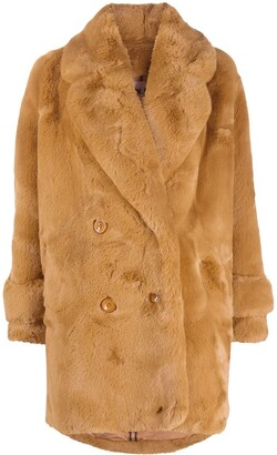 S.W.O.R.D 6.6.44 Faux Shearling Coat