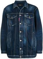 DSQUARED2 Be Nice oversized denim jacket