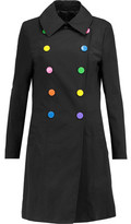 Love Moschino Embellished Cotton-Canvas Coat