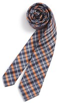 Nordstrom Boy's Plaid Silk & Cotton Tie